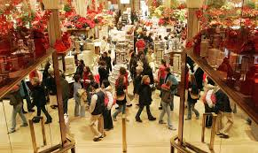 Shop on-line and avoid the mall crowds.