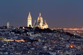The striking white dome of the Basilica of Sacre Coeur is a Paris landmark.