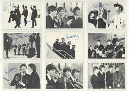 Beatles bubble gum cards are just a few of the memorabilia I kept from the sixties.