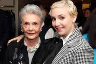 Betty Halbreicht in a recent photo with Lena Dunham.