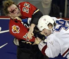 What a lovely way to teach your children and grandchildren about good sportsmanship; take them to an NHL hockey game.