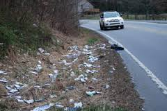 The problem of roadside trash is not going to disappear on its own.