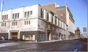 Eaton's College Street store represented sophisticated shopping in the sixties.