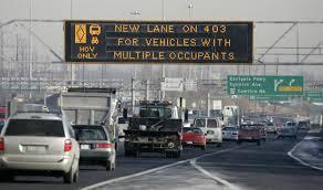 You'll never convince me that HOV lanes improve traffic flow. It's an elitist system that favours the deceivers.