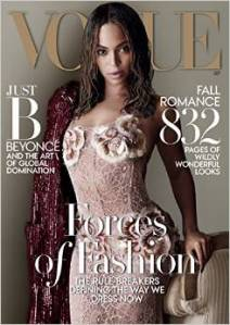 Is it just me or is the cover of Vogue's September issue totally uninspiring?