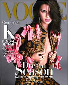 My disappointment with the September issue was only exacerbated by featuring Kendall Jenner on the cover.